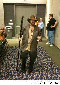 Torgo from MST3K haunts the halls of Comic-Con International.