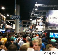 The crowds were thicker than high-def pixels at Comic-Con's Preview Night.