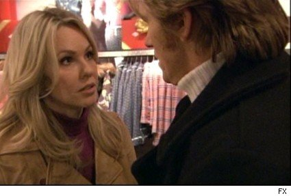 Andrea Roth and Denis Leary