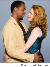 Jaleel White and Leyna Juliet Weber in