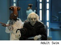 Seth MacFarlane is Emperor Palpatine in Robot Chicken Star Wars.