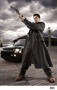 John Barrowman stars as Captain Jack Harkness in the BBC's Torchwood: Children of Earth.