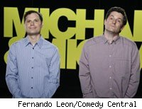 Michael Ian Blakc and Michael Showalter of Michael and Michael Have Issues