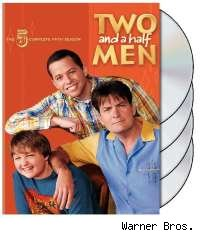 Two and a Half Men Season Five DVD cover