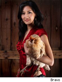 Kelli Choi is host of Bravo's elite cooking show, Top Chef Masters.