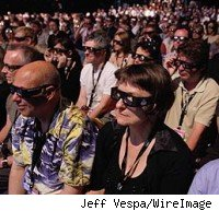 3d glasses at Cannes Film Festival