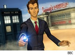 A 3D CG David Tennant stars in Doctor Who: Dreamland.