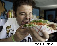 Adam Richman Man v Food