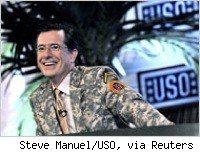 Stephen Colbert in Iraq