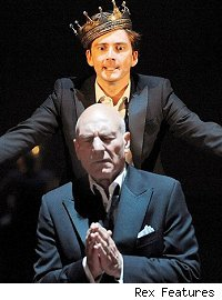 David Tennant & Patrick Stewart (seated)