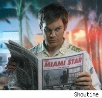 Michael C. Hall is Dexter Morgan on Dexter