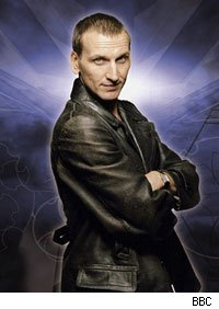Christopher Ecclestone was the first Doctor Russell T. Davies brought to TV's Doctor Who.