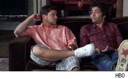 Jerry Ferrara and Adrian Grenier