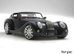 Richard Hammond crashed his Morgan Aeromax in a traffic accident.
