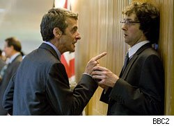 Malcolm Tucker removes another man's dignity on The Think of It.