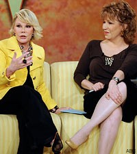 Joan Rivers The View