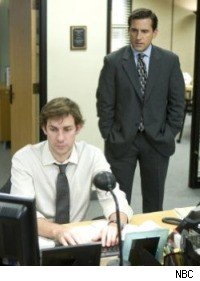 The Office - Steve Carell and John Krasinski