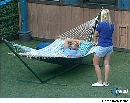 Jordan confronts Russell on Big Brother 11