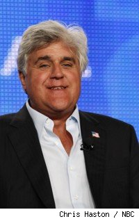 Jay Leno at his TCA 09 panel