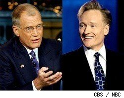 Letterman and O'Brien
