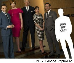 Banana Republic's Mad Men contest