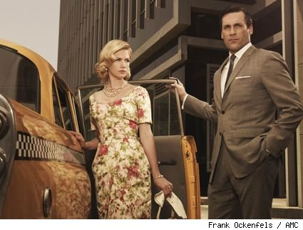 Betty and Don Draper (January Jones and Jon Hamm) Mad Men Season 3