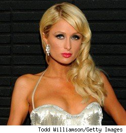 Paris Hilton in a rare clothed appearance