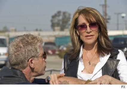 Sons of Anarchy - Katey Sagal and Ron Perlman