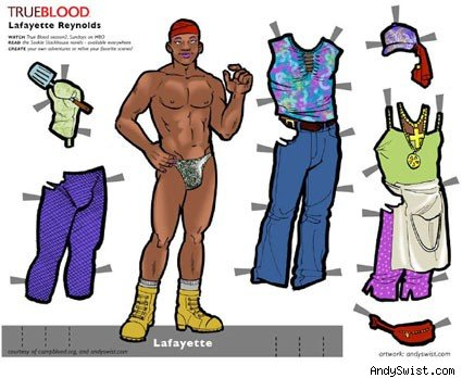 true blood paper dolls