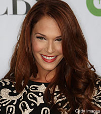 As one-fifth of the CBI team on 'The Mentalist,' Amanda Righetti has