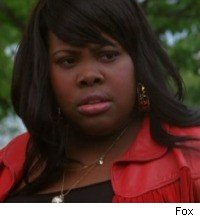 Amber Riley in Glee