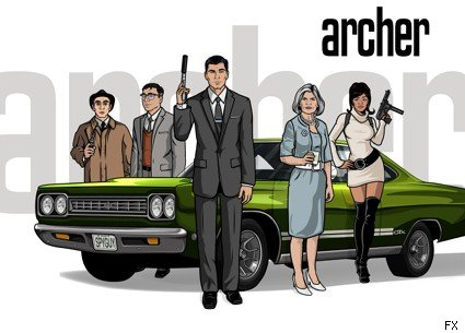 'Archer' premieres this Thursday, 9/17, on FX.
