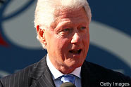 Bill Clinton David Letterman