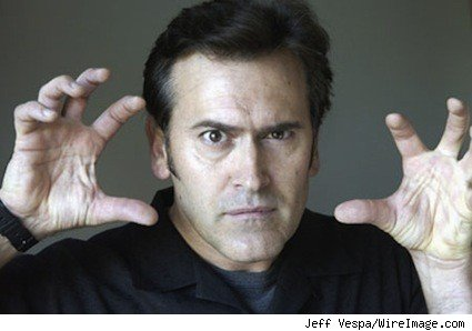 The man, the myth, the unholy god, ladies and gentlemen, Bruce Campbell