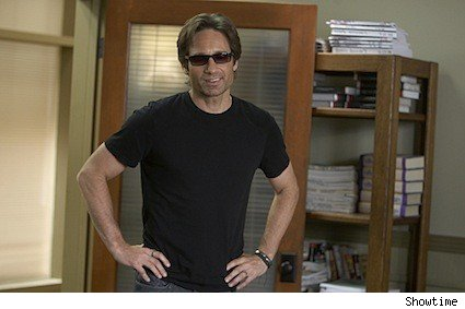 David Duchovny as Hank Moody in Californication