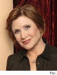 Carrie Fisher - On the Lot