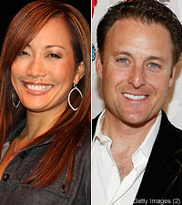 Carrie Ann Inaba Chris Harrison