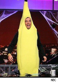 Carson Daly desperately attempting to be funny on Last Call with Carson Daly