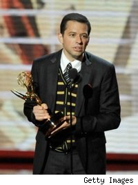Jon Cryer accepts his Emmy