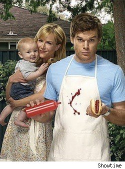 Michael C. Hall and Julie Benz from Dexter