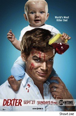 Dexter Season 4 poster