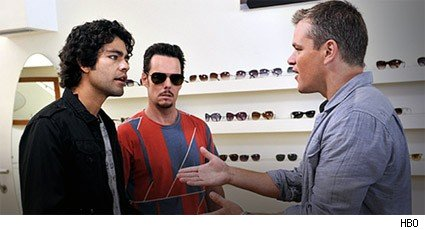Adrian Grenier, Kevin Dillon, and Matt Damon