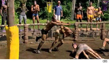 The immunity challenge gets rough on Survivor Samoa