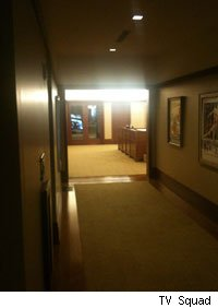 That distant glass door leads to LucasFilm television and its new live action Star Wars show.