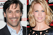 Jon Hamm January Jones Oprah