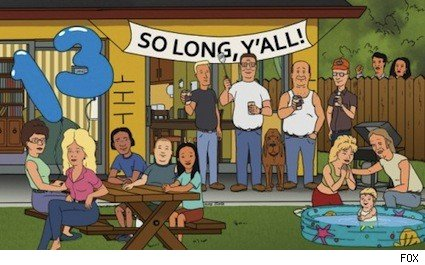 King of the Hill's 13 year finale