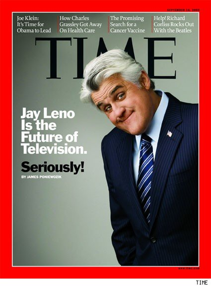 Jay Leno on the cover of TIME magazine