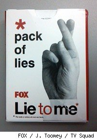 Lie to Me playing cards