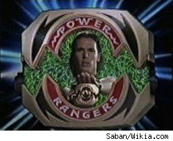 Tommy Oliver as the Green Power Ranger