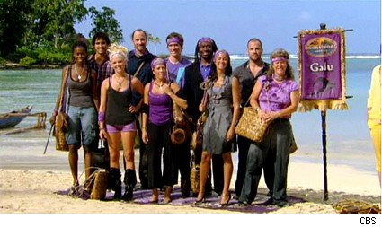 The Galu tribe on Survivor Samoa